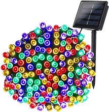 Luz solar decorativa al aire libre 100 LED