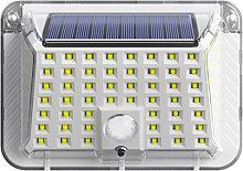 Luz solar LED PIR Sensor de movimiento Recargable