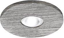 Lúzete - Foco Empotrable Led Redondo Aluminio 3W