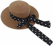 LUZIWEN Sombrilla Paja Playa Sombrero for el Sol
