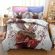 LWtiao-x Juego de ropa de cama Anime Popun Avatar