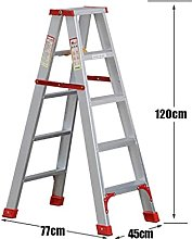 LXDZXY Escaleras, Escalera Plegable Aleación de
