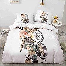 LXTOPN Dreamcatcher - Juego de cama con funda de