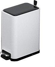 LYLSXY Cubo de Basura, Cubo de Basura de Acero