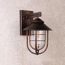 LZXH Lámpara de Pared Country Vintage Industrial