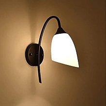 LZXH Lámpara de Pared Retro Country Creativo