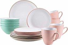MÄSER 931540 - Vajilla de cerámica para 4