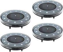 MagiDeal Luces solares al Aire Libre 12 Luces LED