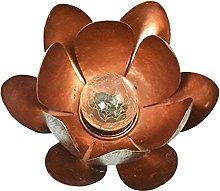 MagiDeal Luz de jardín de Flores de Loto para