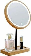 Makeup mirror Espejo de Maquillaje de Madera con