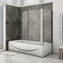 Mampara de baño con Panel pivotante de 180°,