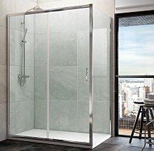Mampara de ducha angular Plum (1 fija y 1