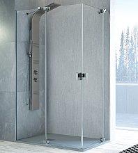 Mampara de ducha angular Sula -Kassandra-