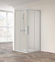 Mampara de ducha angular Vetro 220 -Profiltek- (2