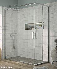 Mampara de ducha angular Yoko - Kassandra- (2