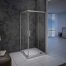 Mampara de ducha, Apertura Central, Puertas