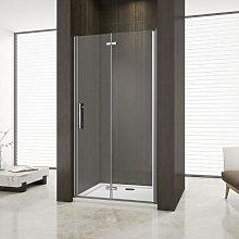 Mampara de ducha con Apertura de Puerta Abatible,