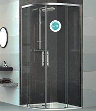 Mampara de ducha curva Venecia -Deyban- 2 fijas +