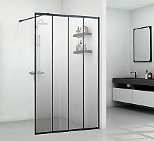Mampara de ducha estilo italiano estilo industrial