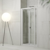 Mampara de ducha frontal 2 plegables Treviso de