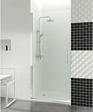 Mampara de ducha Open 1 puerta abatible con cierre