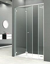 Mampara de ducha plegable Reus -Deyban- 2 puertas