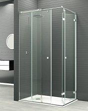 Mampara de ducha plegable Reus Mixta -Deyban-