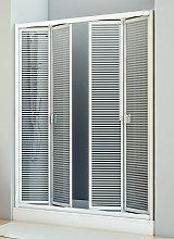 Mampara de ducha plegable Siapa -Hidroglass-