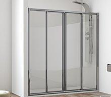 Mampara de ducha Sella de Hidroglass (2 fijas + 2