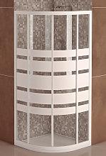 Mampara de Ducha Semicircular Modelo SICILIA(2