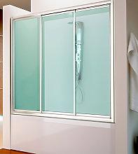 Mampara frontal de bañera Bali -Hidroglass- (3