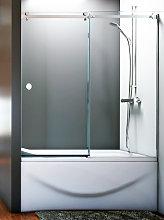 Mampara frontal de bañera Danubio -Hidroglass- (1