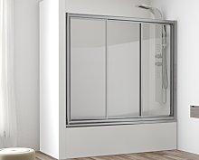 Mampara frontal de bañera Indonesia -Hidroglass-