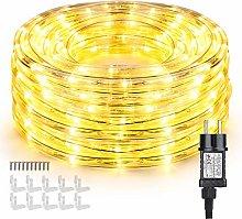 Manguera de Luces Exteriores, BrizLabs 10m 240 LED