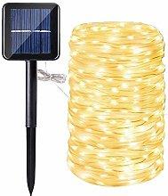 Manguera led solar, DINOWIN 72ft/22M 200leds