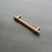 Manija de cobre puro de latón de haya, nueva