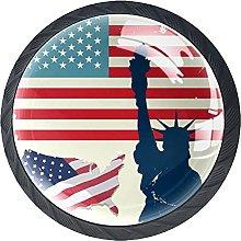 Manija De La Cocina Bandera De Estados Unidos