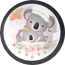 Manija del Armario Estrellas y Koala Tiradores de