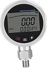 Manómetro digital de gas con tapón G1 / 4 y