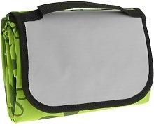 Manta de picnic 150 x 130 cm estampado verde con