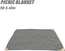 Manta de picnic, 59 x 43 pulgadas, manta de playa,