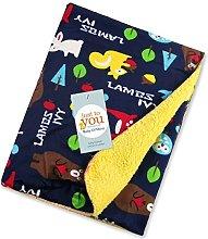 Manta suave y cálida para bebés; ideal para el
