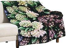 Mantas para Sofa Manta Microfibra de Franela Suave
