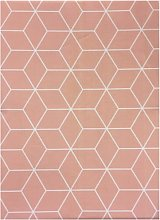 Mantel Cube Rosa 140x140 - Trends Home Selection