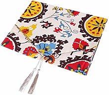 Mantel de lino de algodón Cubierta de mesa