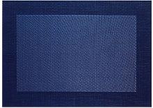 Mantel Individual Pvc Azul Oscuro - Asa Selection