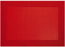 Mantel Individual Pvc Rojo - Asa Selection