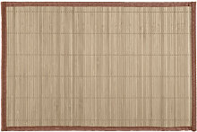 Mantel Individual Rectangular Bambú - Trends Home