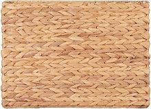Mantel individual trenzado de fibra vegetal