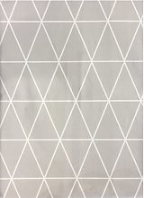 Mantel Triangle Gris 100x140 - Trends Home